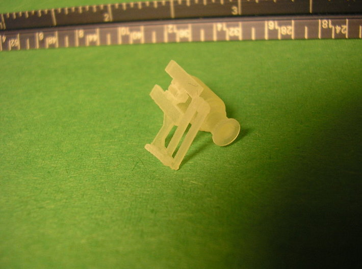 Caboose Generator C-3450 3d printed Printed part after cleaning