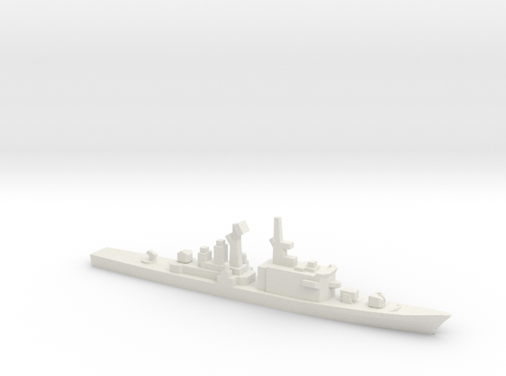 Tachikaze-class destroyer, 1/1800 3d printed