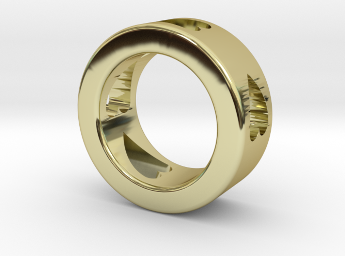 LOVE RING Size-4 3d printed