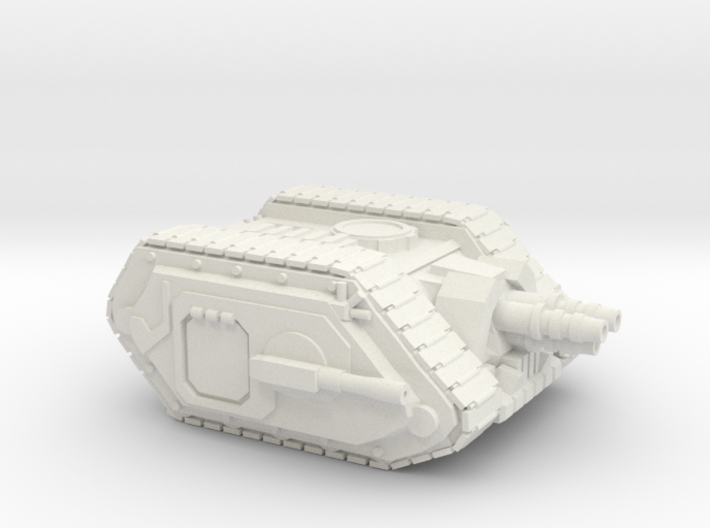 Tri Blaster WWI style Tank 3d printed