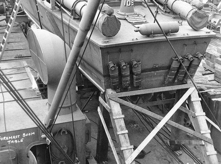1/32 Aft Torpedo Tubes for PT Boats 3d printed
