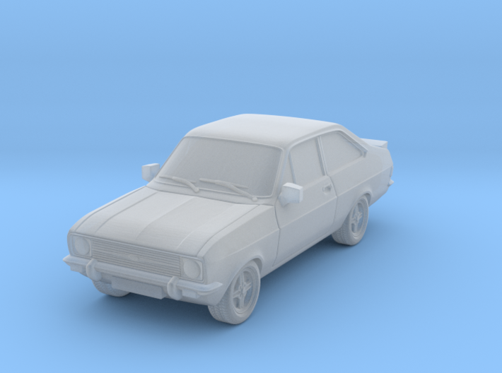 1:87 escort mk 2 2 door rs round headlights hollow 3d printed