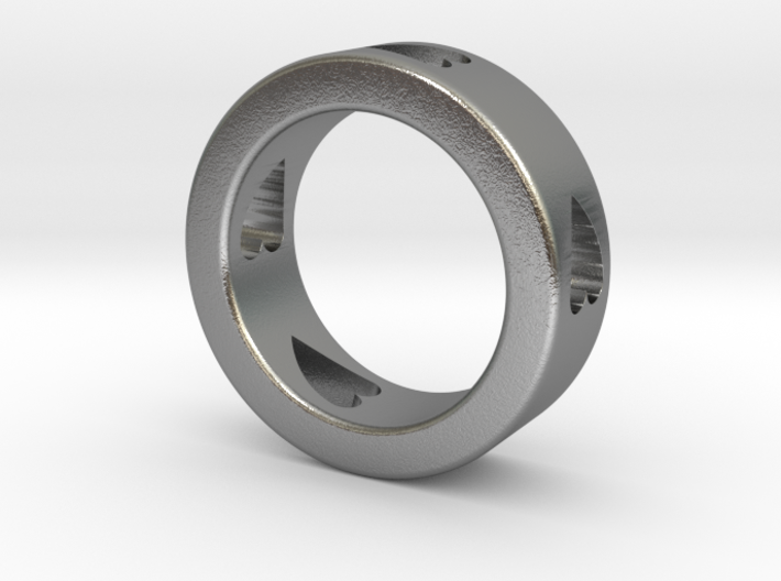 LOVE RING Size-10 3d printed