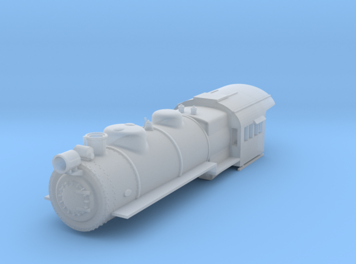 PRR H8 TT Scale Shell 3d printed