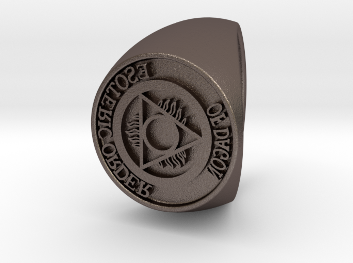 Esoteric Order Of Dagon Signet Ring Size 14 3d printed