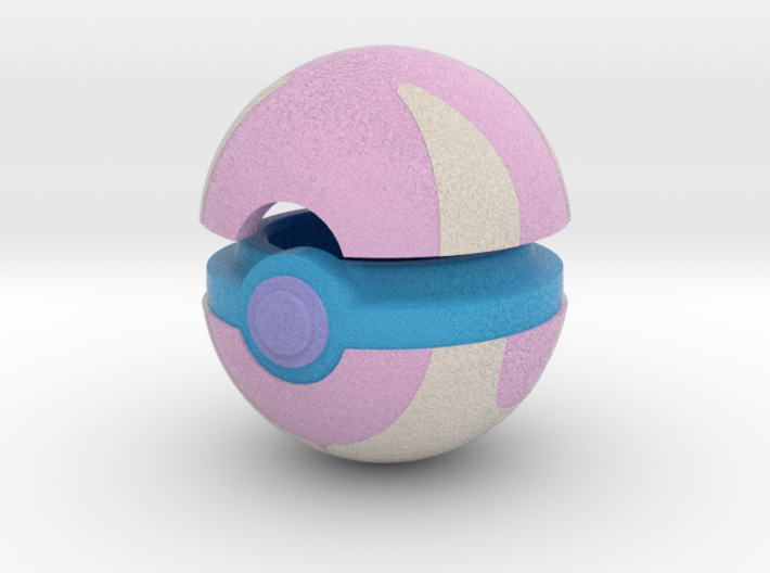 Pokeball (Heal) 3d printed