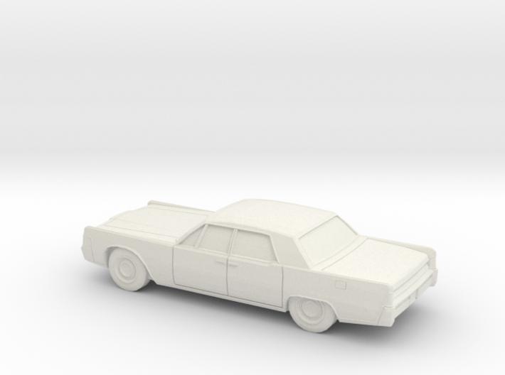 1/87 1965 Lincoln Continental Sedan 3d printed