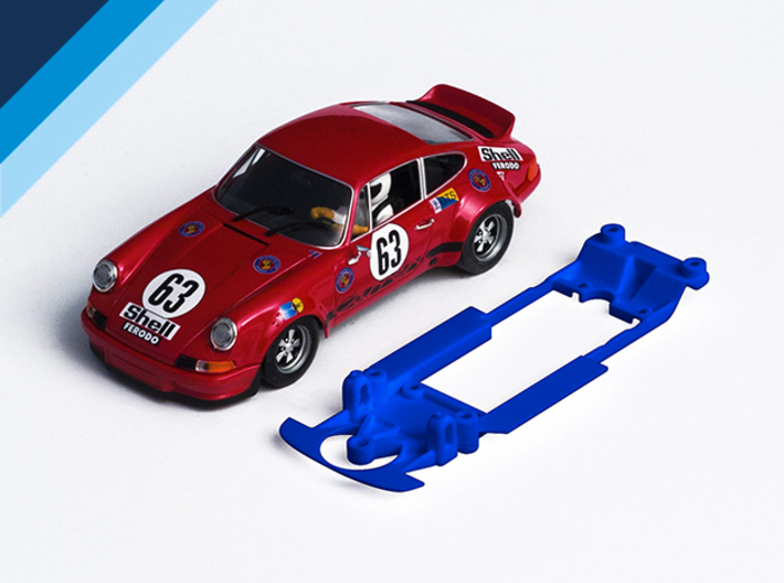 1/32 Fly Porsche 911 / 934 Chassis for Slot.it pod 3d printed Chassis compatible with Fly Porsche 911 Carrera body (not included)