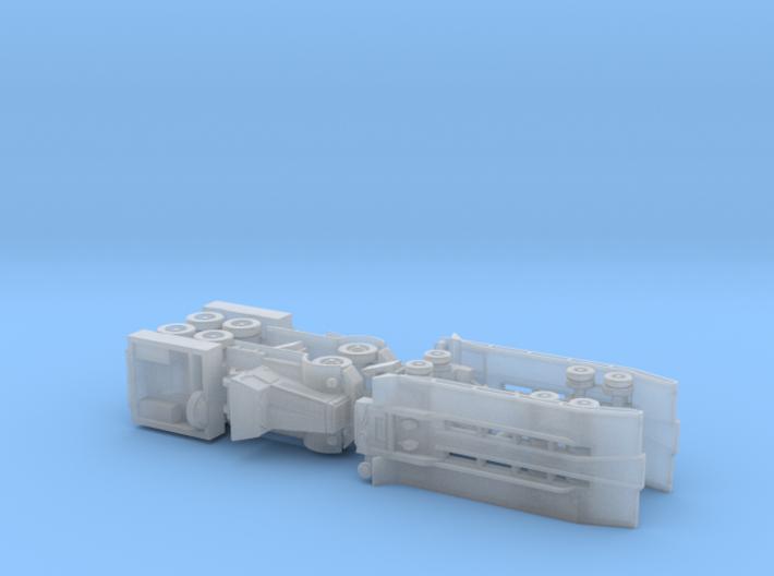 US M19 Diamond T Tank Transporter 1/200  3d printed