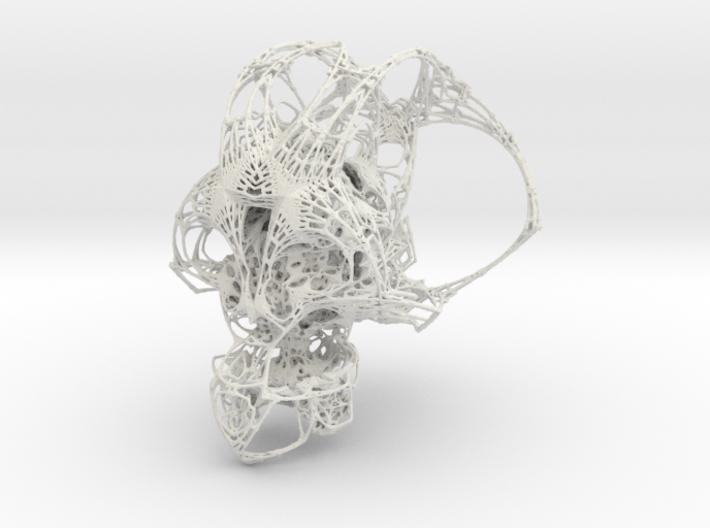 Fractal Cranium Full Size 3d printed