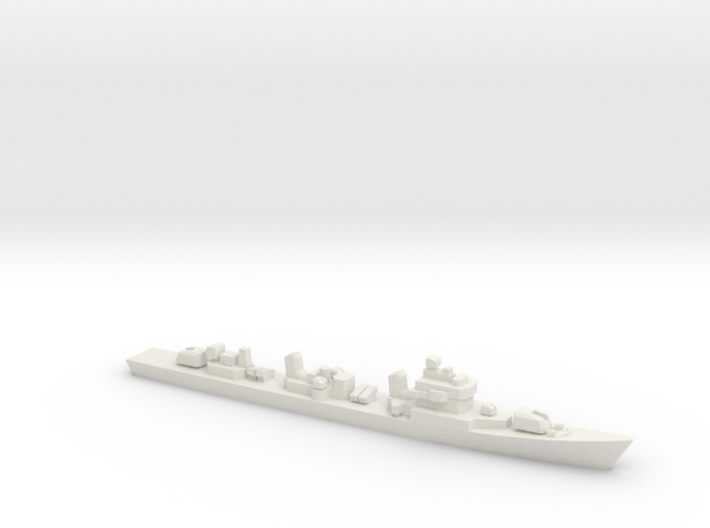 Type 051DT Destroyer, 1/1800 3d printed