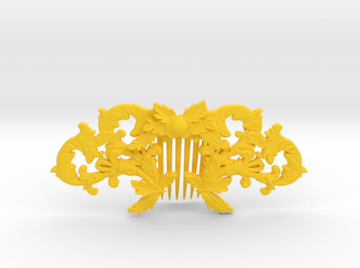 Hair Comb 3d printed