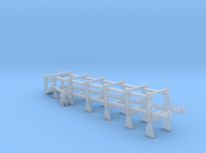 1/125 DC Release Track Mk 9 Mod 0 (LEFT SIDE) 3d printed