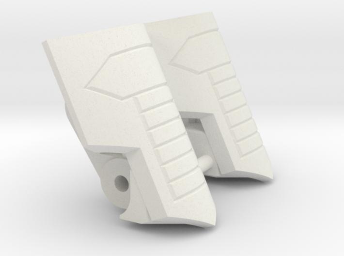 "Medic Knee Pads ""MTMTE"" Mk.I 3d printed"