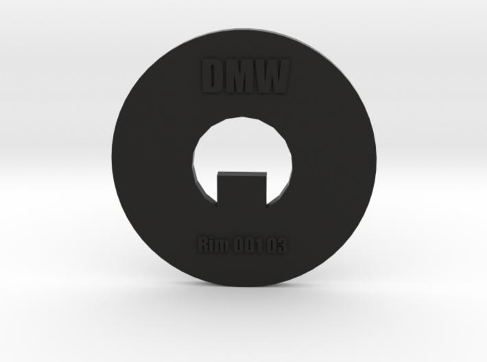Clay Extruder Die: Rim 001 03 3d printed