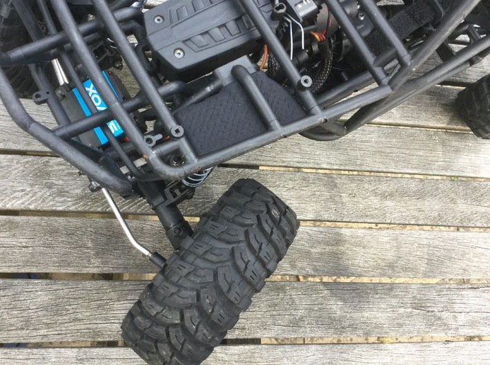 Axial Wraith Inner Fenders - Front 3d printed Axial Wraith Inner Fender
