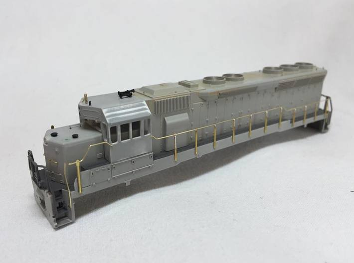 Northern Pacific SD45 4 Window Cab 3d printed Model by Karl Andraschko