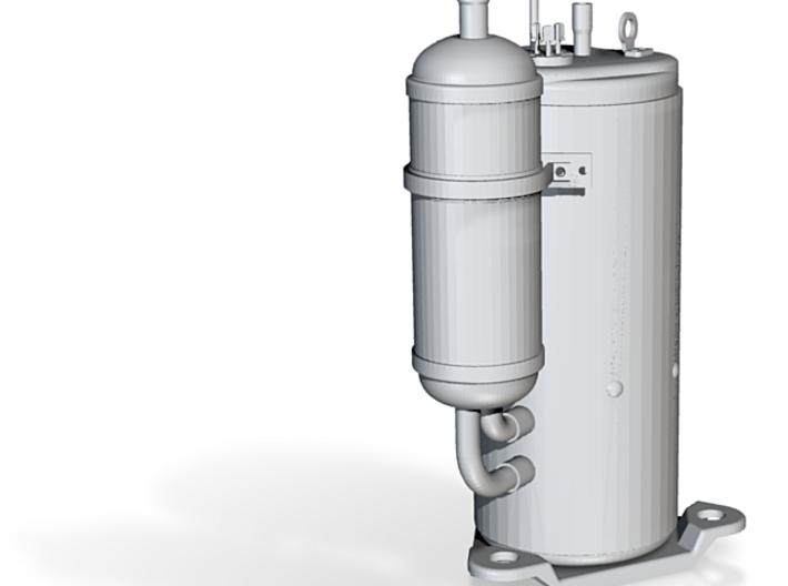 AWECO Compressor QXAS 3d printed