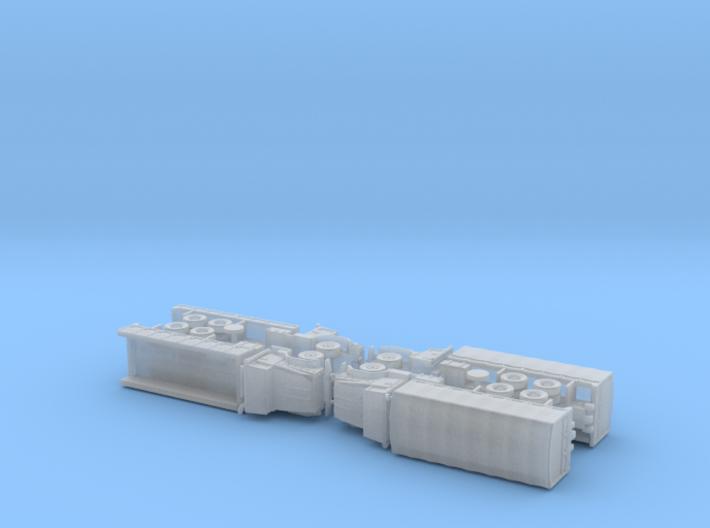 US M927 Trucks 1/285 3d printed