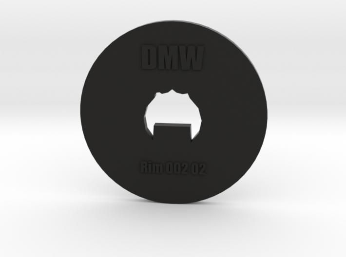 Clay Extruder Die: Rim 002 02 3d printed