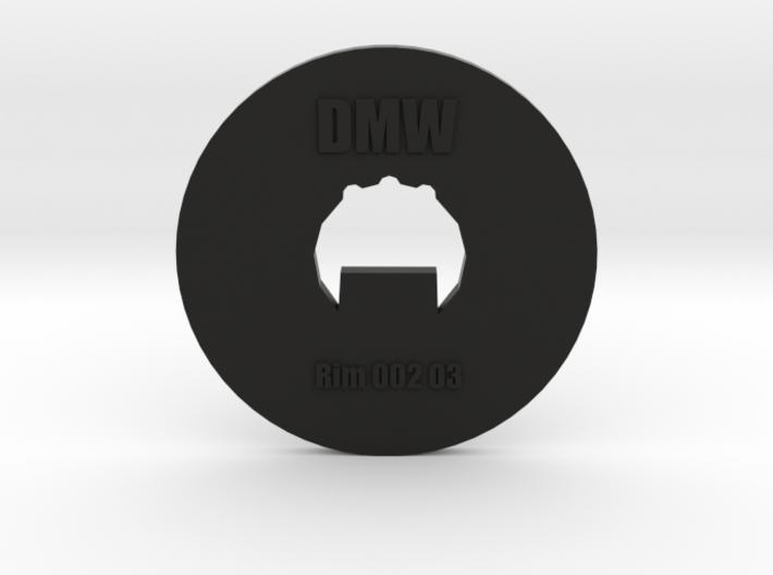 Clay Extruder Die: Rim 002 03 3d printed
