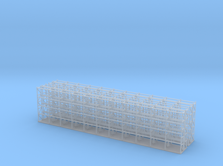 Pallet Racks 104 Ft Z Scale 3d printed