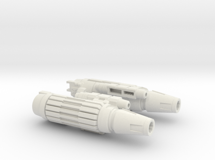 Cannon Master Leader Arm Tubes 3d printed