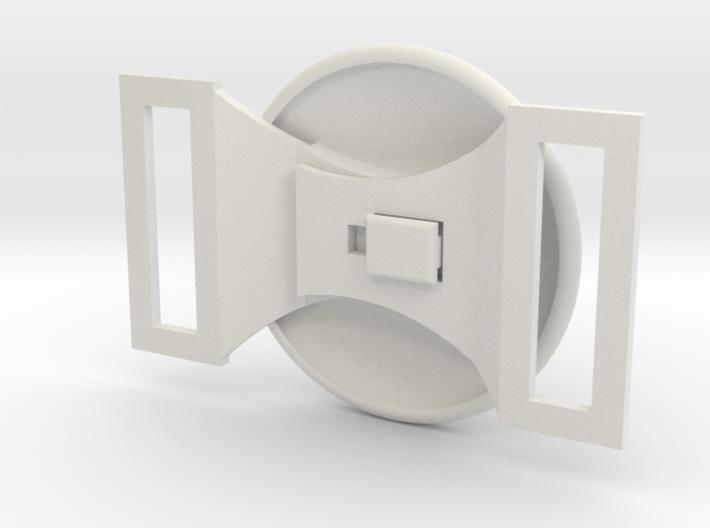Functioning X-Men Belt Buckle 3d printed