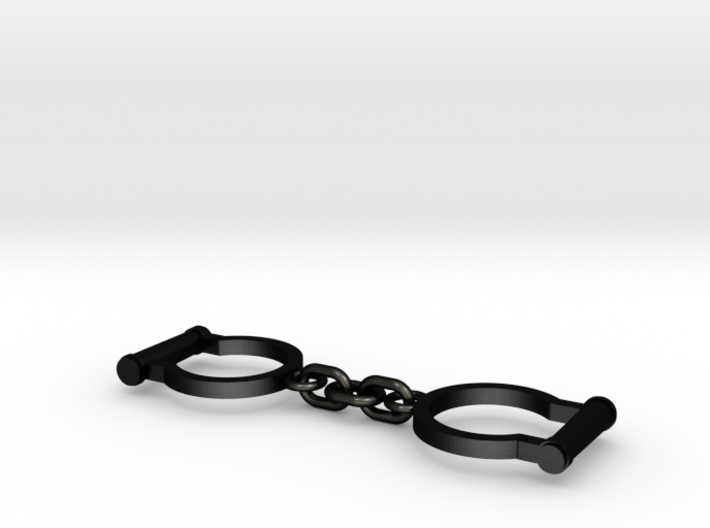 Ned Kelly Gang Outlaw Shackles Handcuffs (small) 3d printed