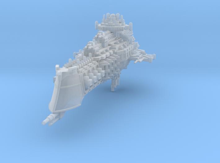 Mars class battlecruiser 3d printed