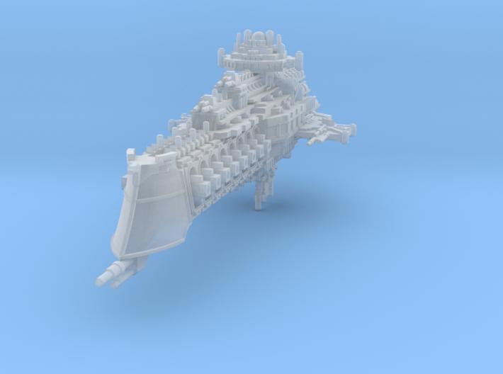 Mercury class battlecruiser 3d printed