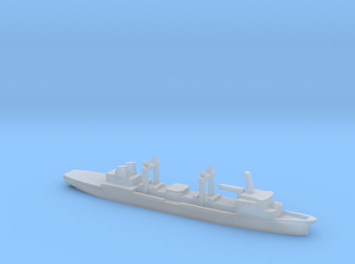Durance-class tanker, 1/6000 3d printed