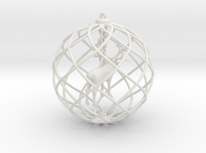 Xmas decoration » Elk 3d printed