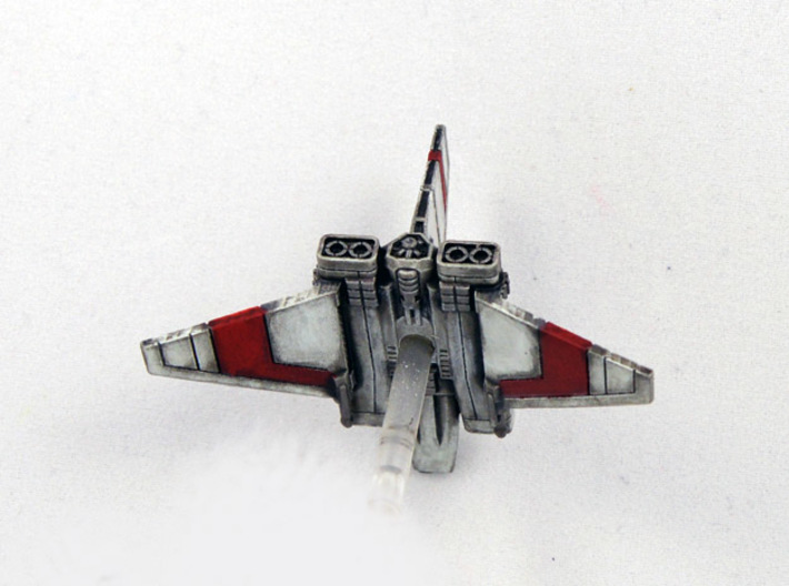"XG-1 Assault Gunboat Variant ""Scrappy Doom"" 1/270 3d printed"