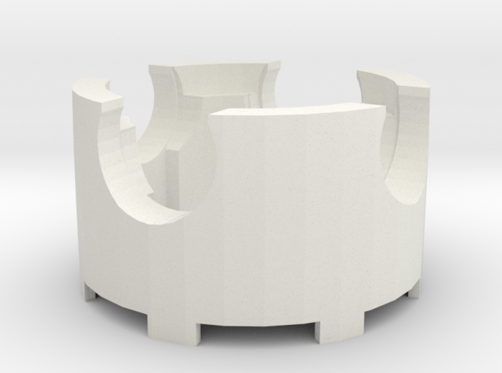 Centrifuge head for DIY tabletop microcentrifuge 3d printed