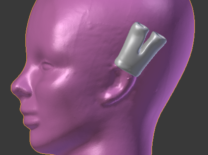Earpants 3d printed suggested use.