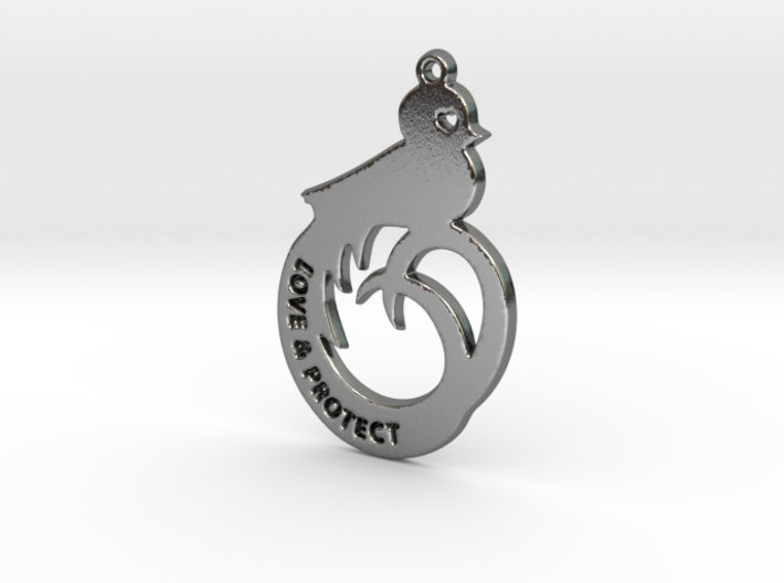 Quetzal - love and protect 3d printed
