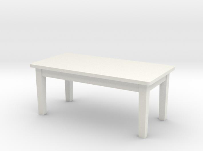1:48 School Table 3d printed