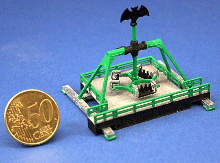 "Standmodell ""Ninja Fly"" für 1:220 (z scale) 3d printed"