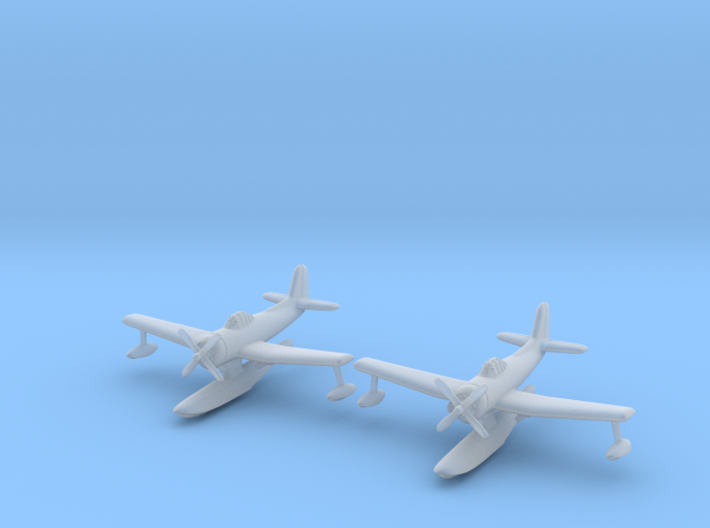 Curtiss SC-1 Seahawk 1/350 3d printed