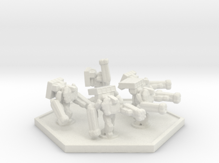 UWN Army Support Trooper (Hex) 3d printed