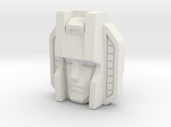 Skywarp Face, Sunbow (Titans Return) 3d printed