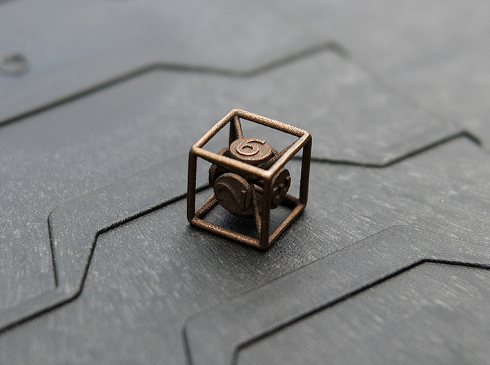 6-Sided Vector Die 3d printed