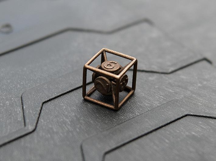 6-Sided Vector Die 3d printed