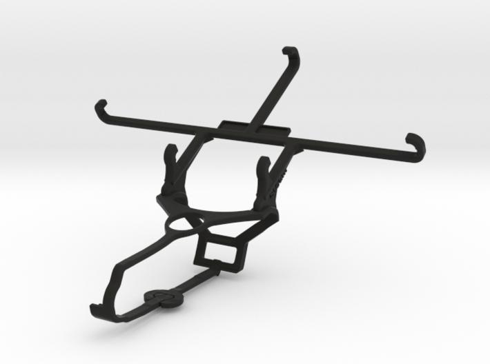 Steam controller & BLU Vivo 5 - Front Rider 3d printed
