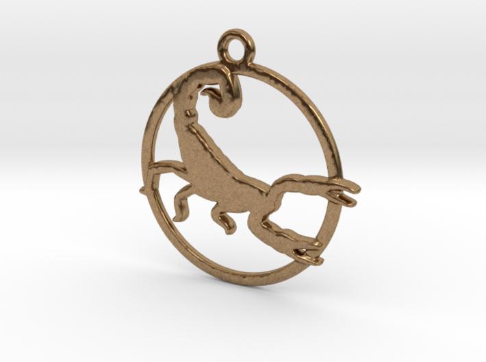 Scorpio Pendant 3d printed