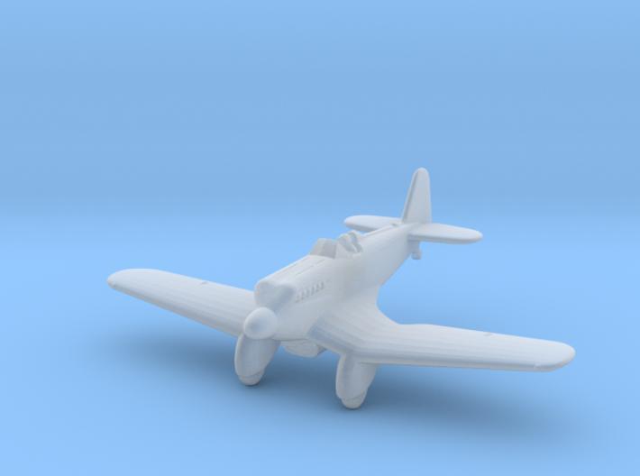 Kawasaki Ki-5 1:285 x1 3d printed