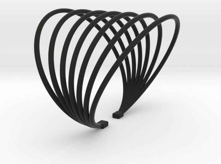 BRACELET MAGNETIC FIELD PLASTIC 3d printed