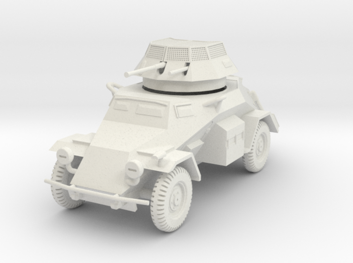 PV133D Sdkfz 222 Armored Car (1/56) 3d printed