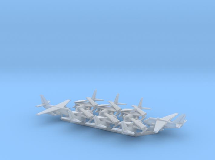 1/700 S-3A & ES-3A w/Gear x8 (FUD) 3d printed